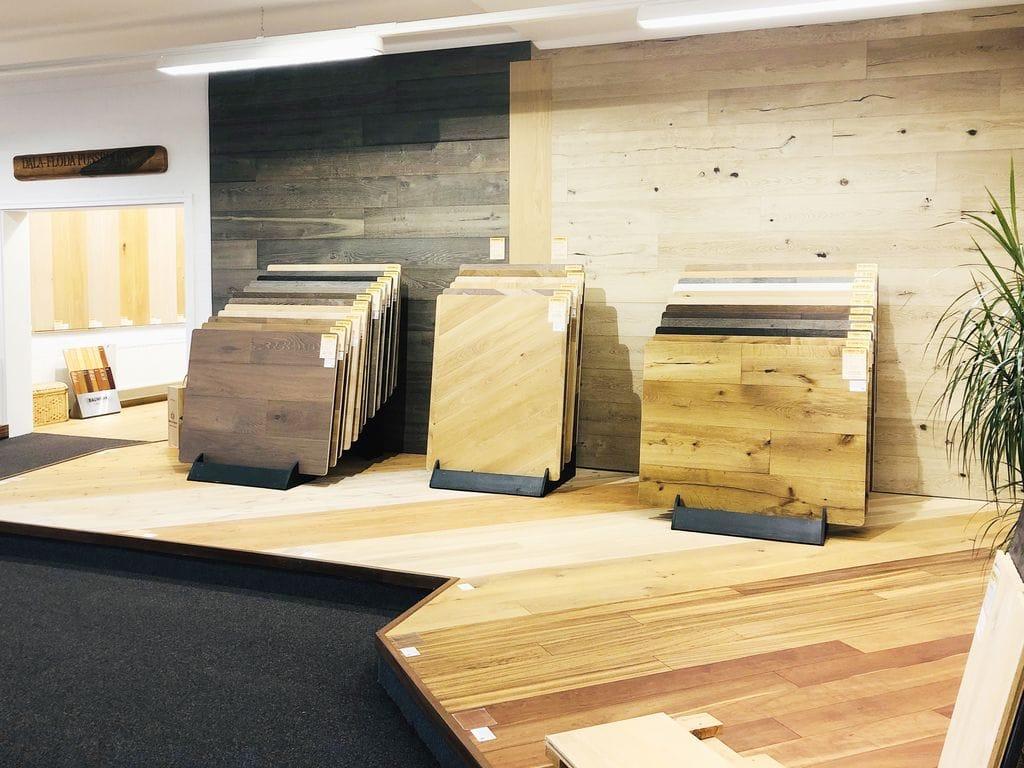 Fußboden Sörensen Ausstellung Details