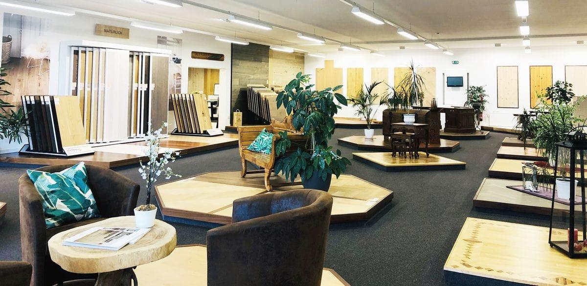 Fußboden Sörensen Ausstellung Panorama