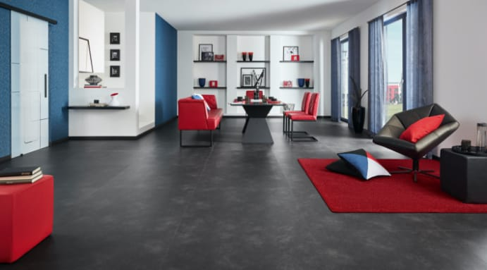 Designbelag Fußboden