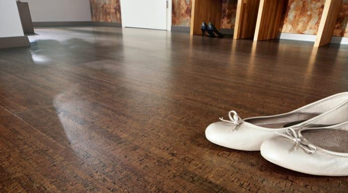 Kork Fußboden