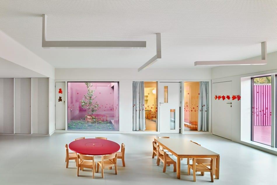 Raum mit Linoleum Fußboden