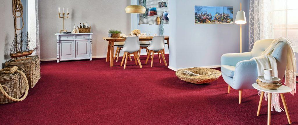 Fußbodenart Teppich