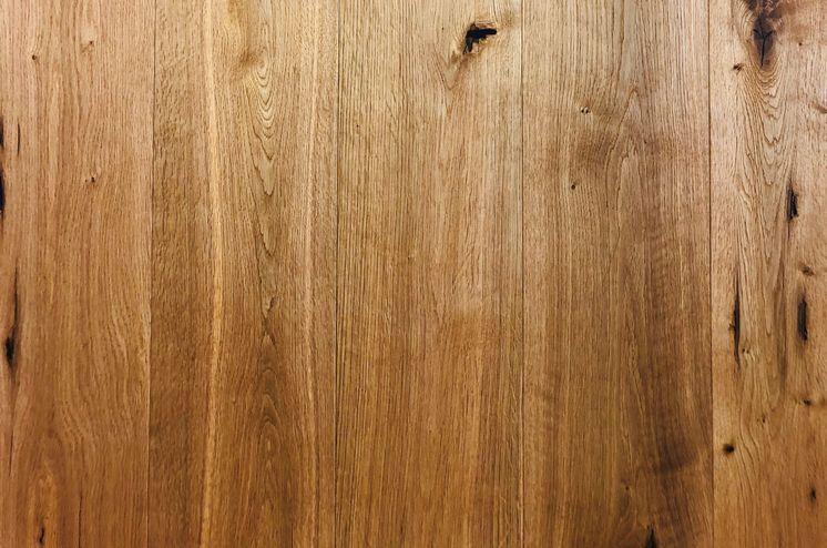 Dielen aus Eichenholz