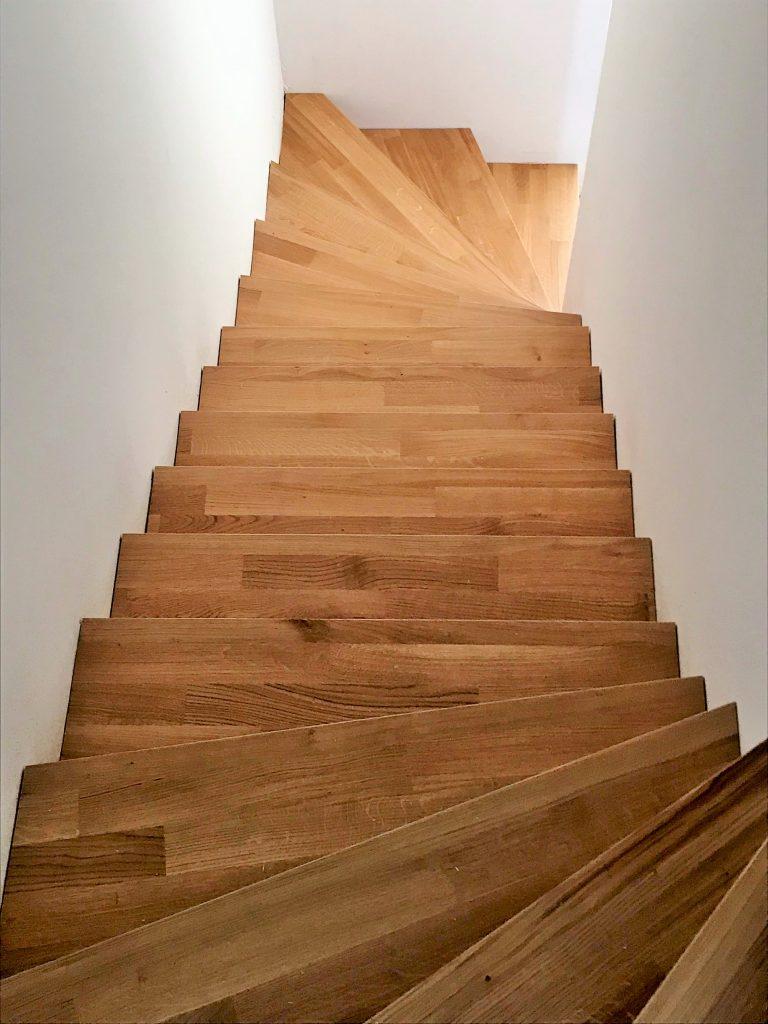 Treppen im Wohnbereich – passend belegt