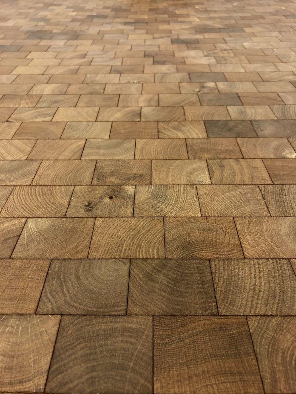 Holzpflaster – Hart im nehmen
