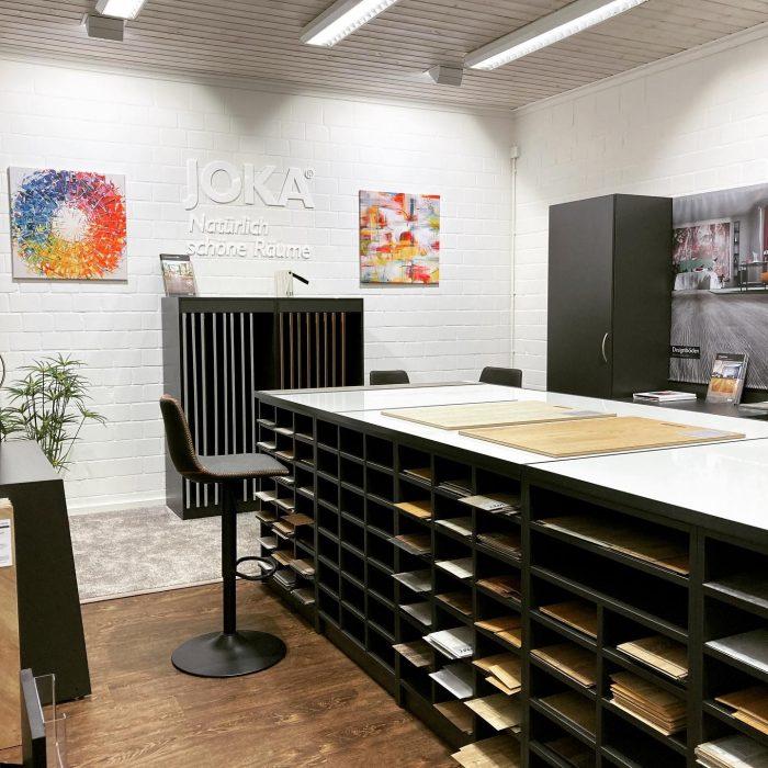 Unser Showroom für Designbeläge – im neuen Look